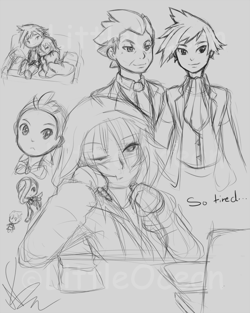 Stream doodles