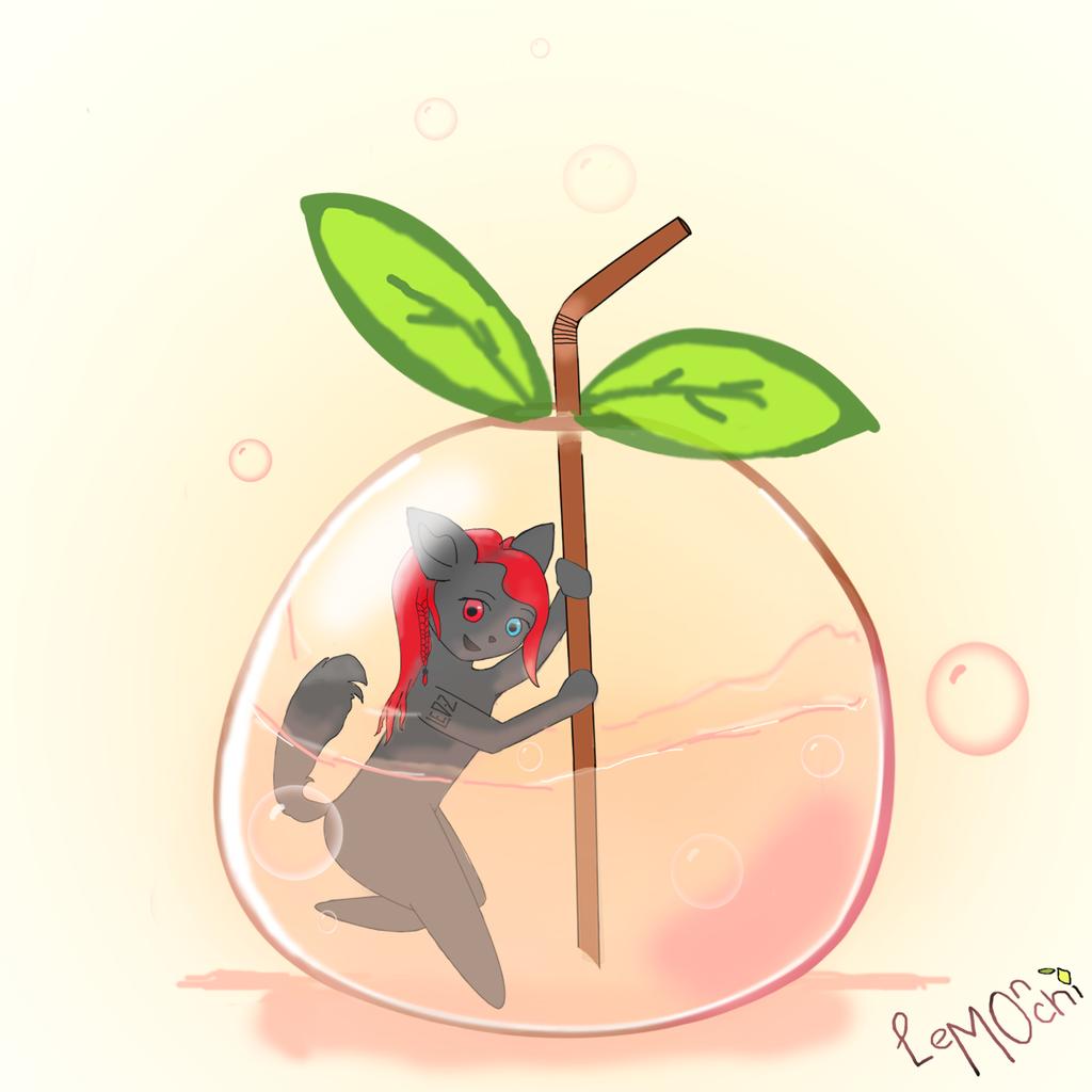 YCH Peach juice Drink - Shadow