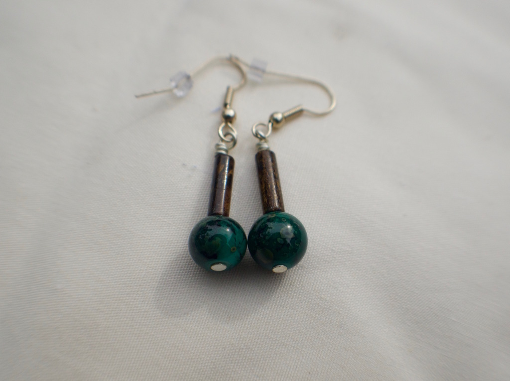 Agate Village Earrings