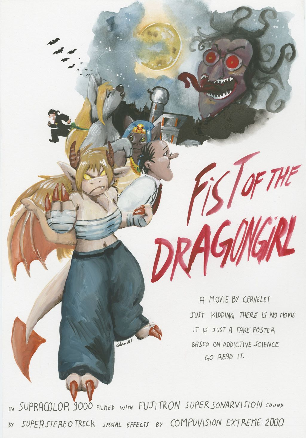 Fist of the Dragongirl