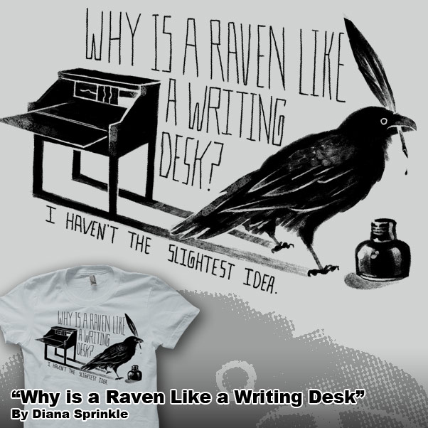 Why Is A Raven Like Writing Desk