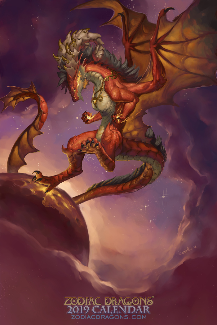 Most recent image: 2019 Zodiac Dragon Aries