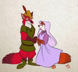 Kody Robin and Felicity Brush Rowan