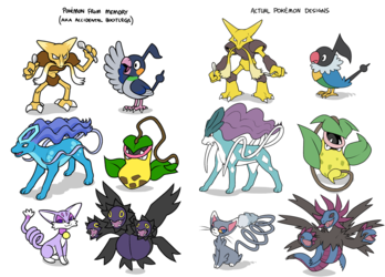 pokemon from memory