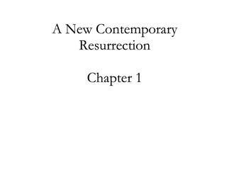 A New Contemporary Resurrection 01