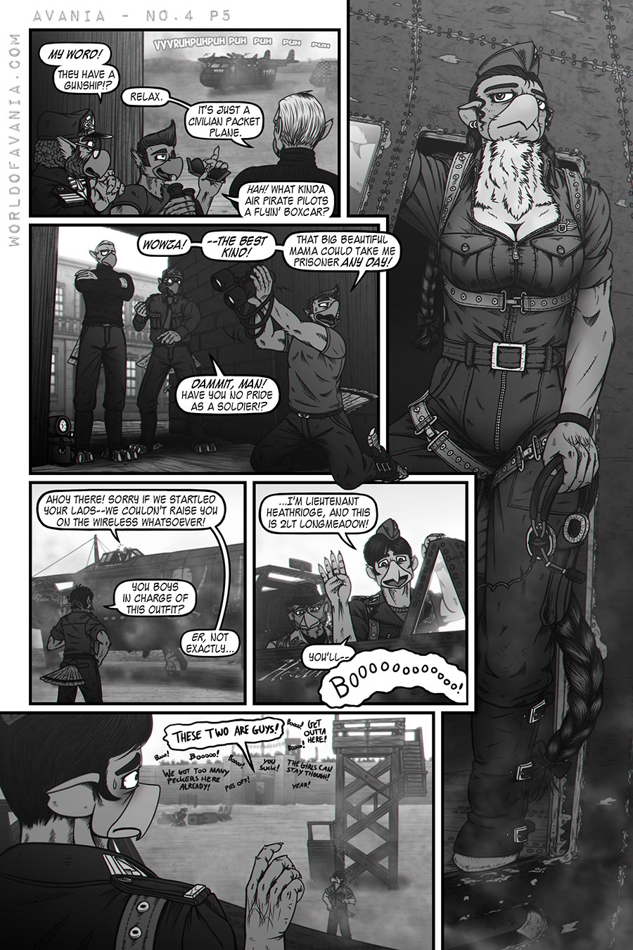 Avania Comic - Issue No.4, Page 5