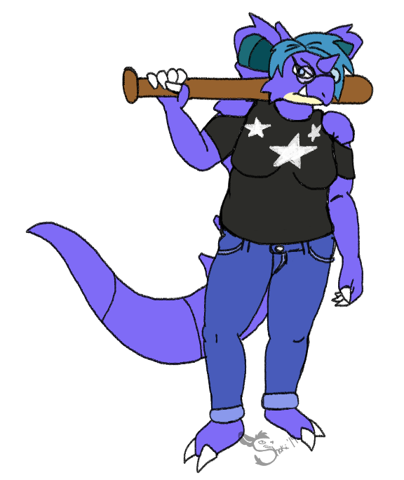 Colored Sketch: Nidoqueen