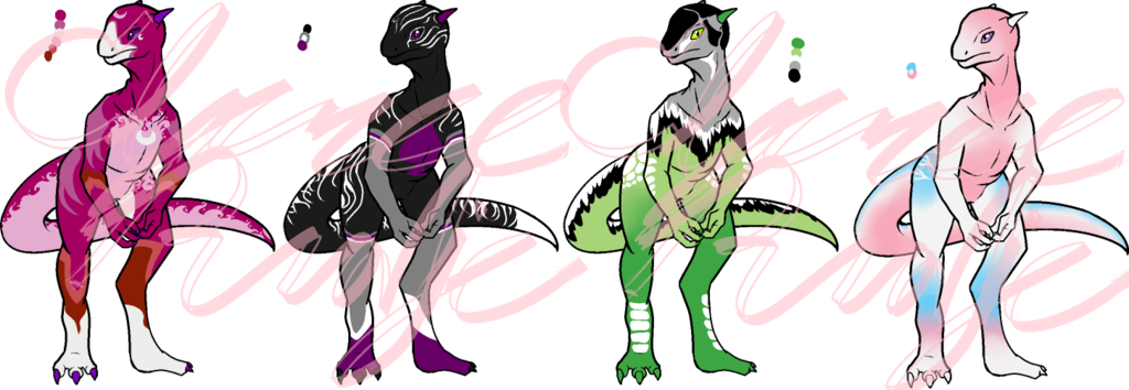 Pride Dragonoids