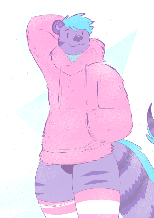 [commission] winter comfy