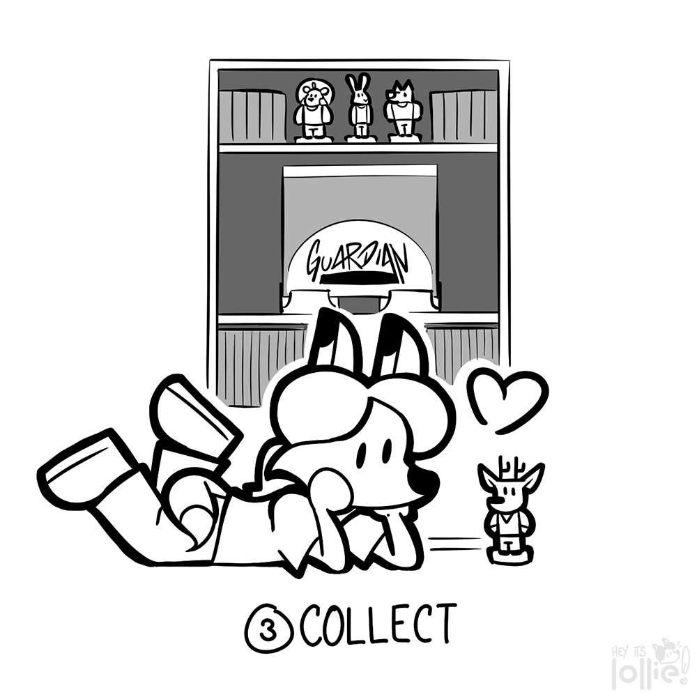 "Inktober 2016 - #3 ""Collect"""