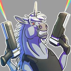 Lasergun Unicorn