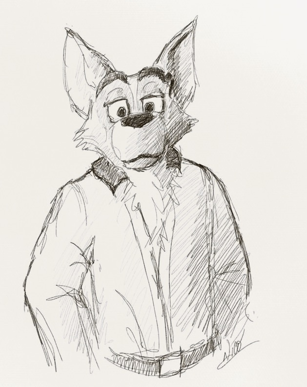 Wolf, Quick Sketch