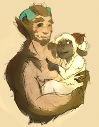 Ona and her Monster Boyfriend