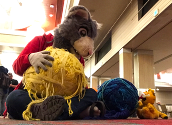 Cats and balls of yarn (BLFC18)