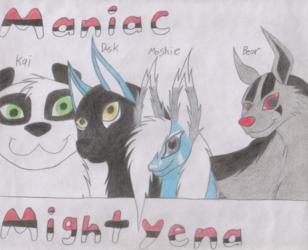 Maniac Mightyena Banner