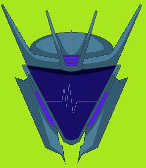 Transformers Prime Soundwave Pixelart