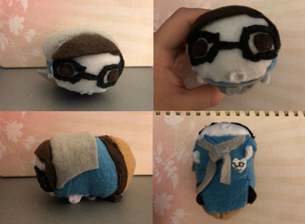Sander Sides Morality Patton Stacking Tsum plush made for myself