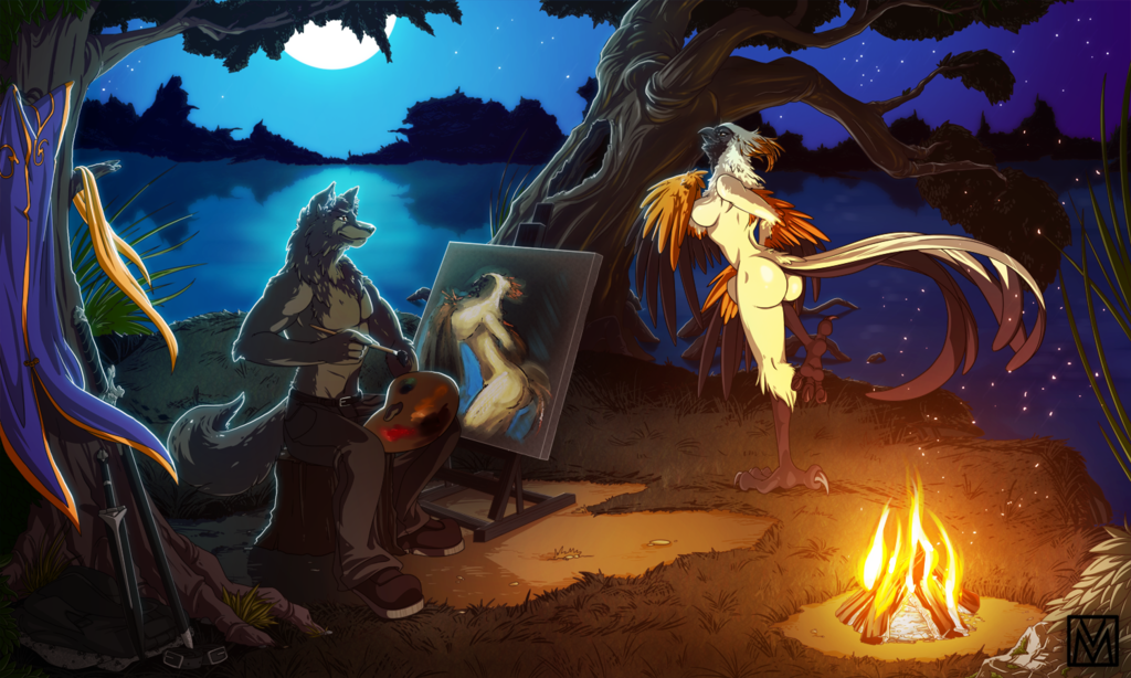 Painting by Twilight - Auction Winner - UcroDevil