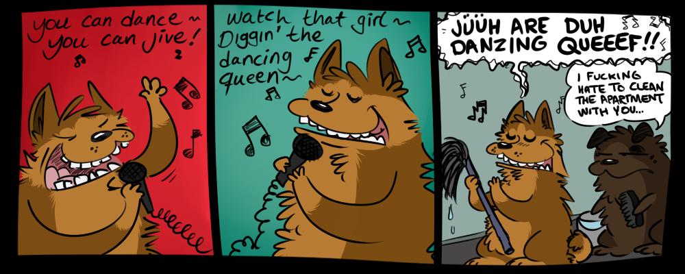 dancing queef