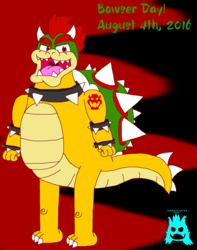KOOPA WEEK! ~ #1 ~ Bowser Day