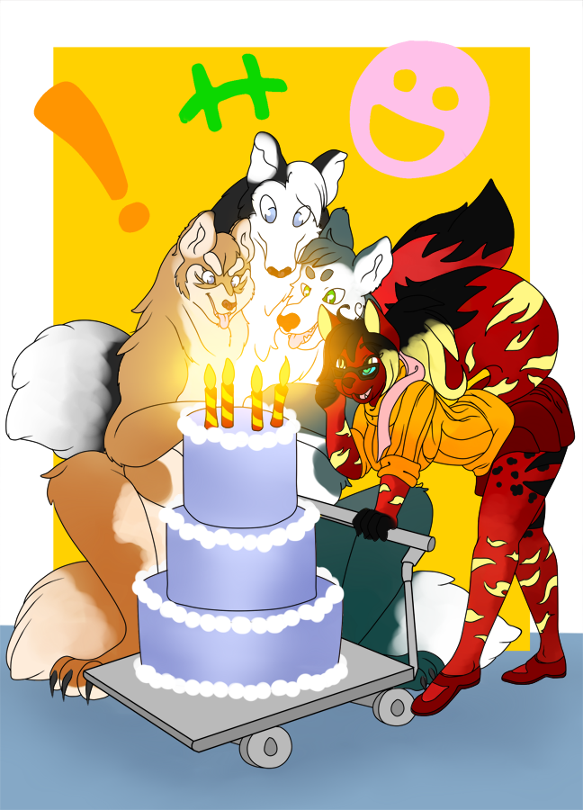 :Commission: Candles bright...