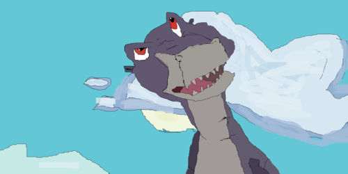 Another Chomper drawing