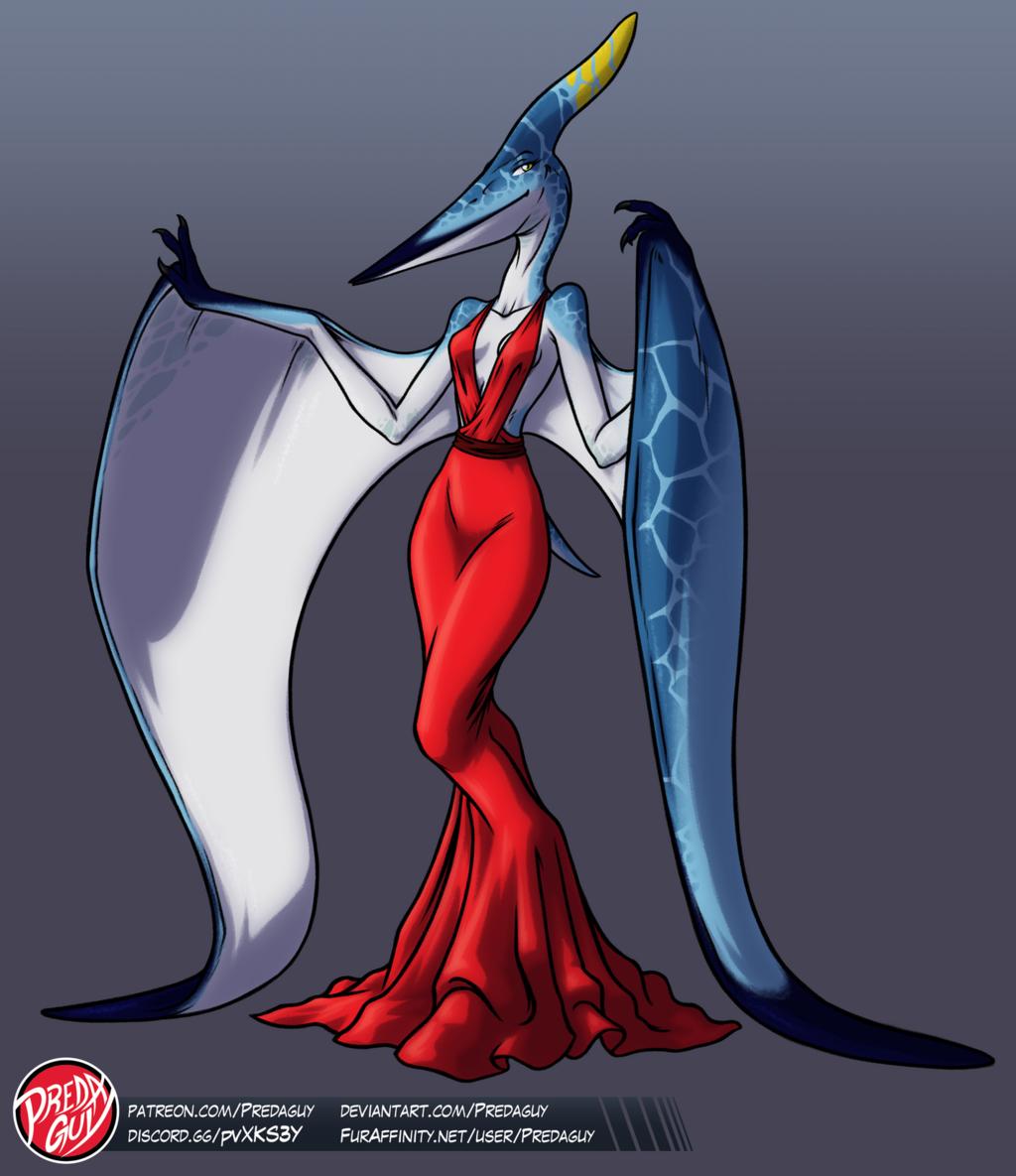 [ADOPTABLE] Pteranodon Girl