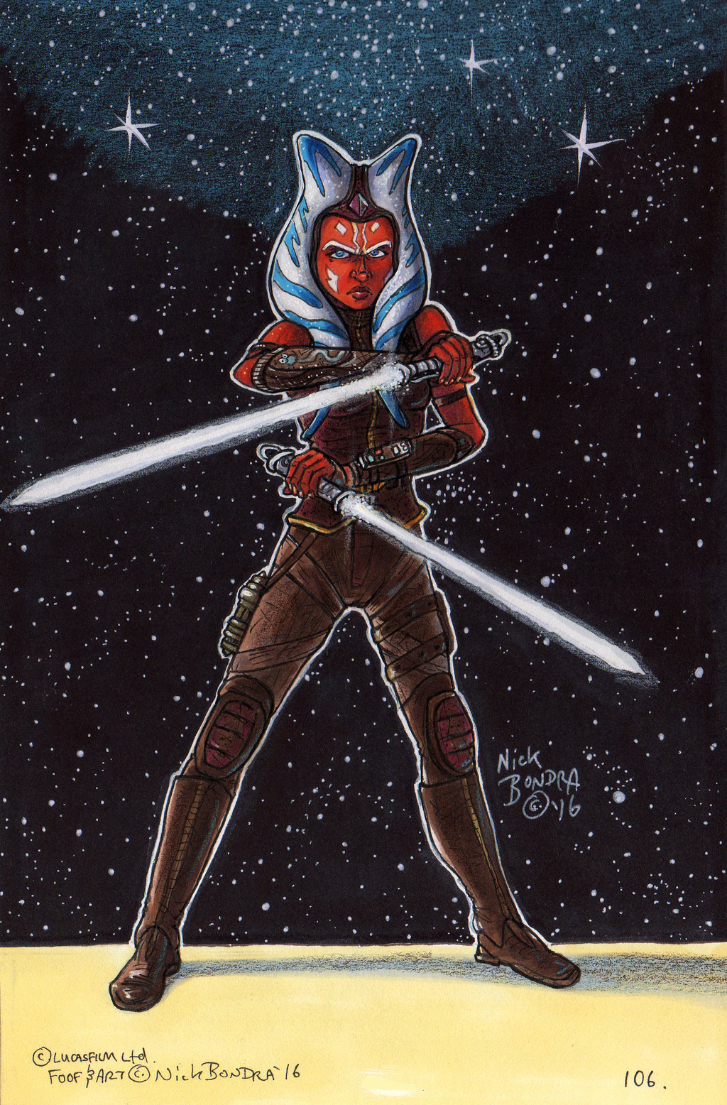 Ahsoka Tano ( post Clone Wars )