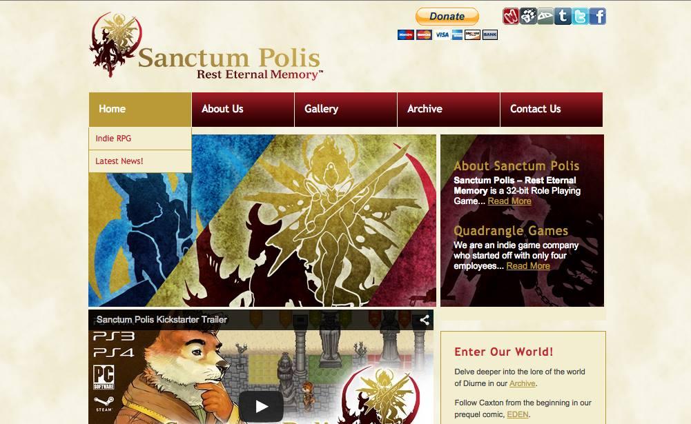 SanctumPolis.com Is Now Live!!