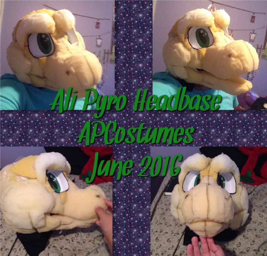Most recent image: Ali Pyro Headbase