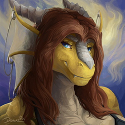 Durrnly Snoot by Deriaz - Gift Art from Cad