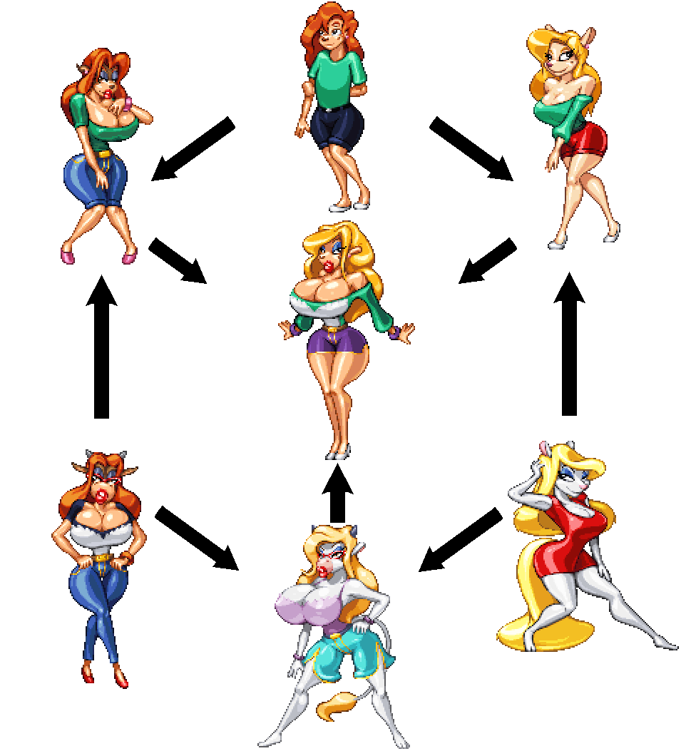 Most recent image: 90s Chick Fusion Chart