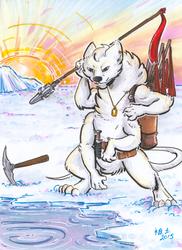 [patreon rewards] ice fishing