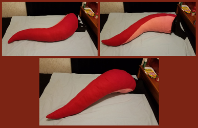 Big Dergy Tail - Red WIP