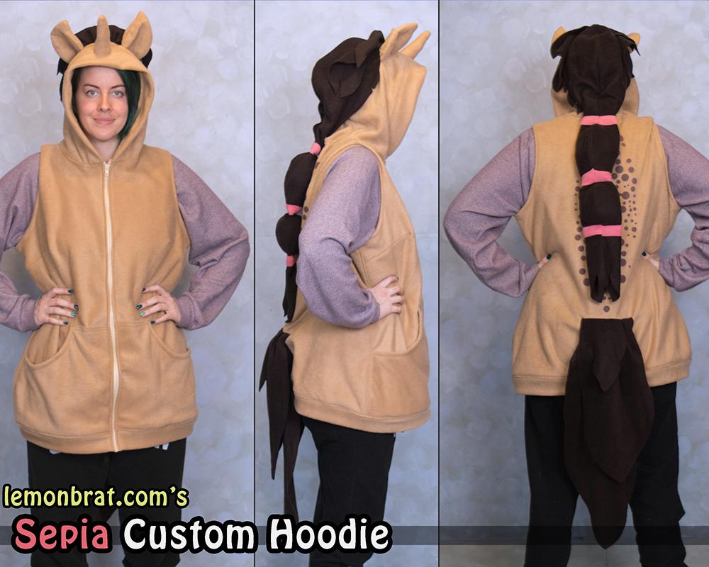 Sepia Custom Hoodie