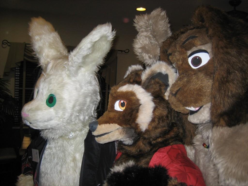 Ferret Bunny sammich (LAFF NYE '07)