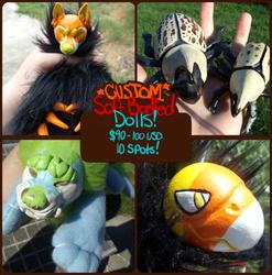 Last chance! Custom art dolls!