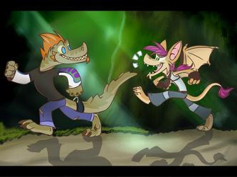 Firo and Irvine - Rayman Origins