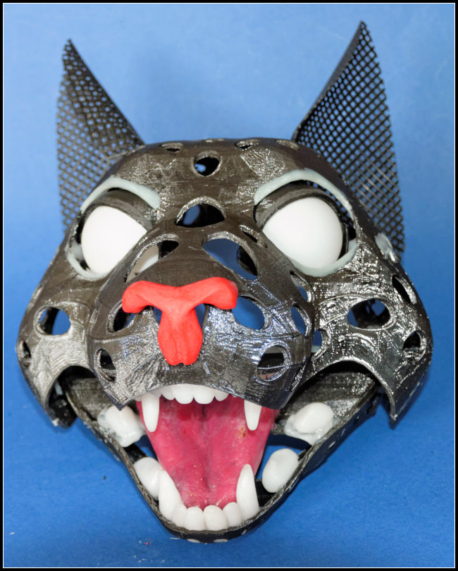 Puppet head-base - Cat