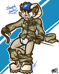 [CHUMMISSION] - STRONG BOOTS