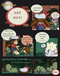 Azalea PG14: Get Out!, The end of Azalea!