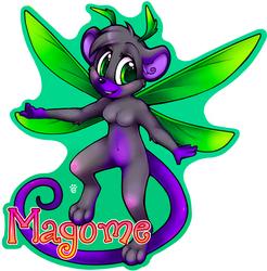 Magome Badge (Anthrocon 2015)