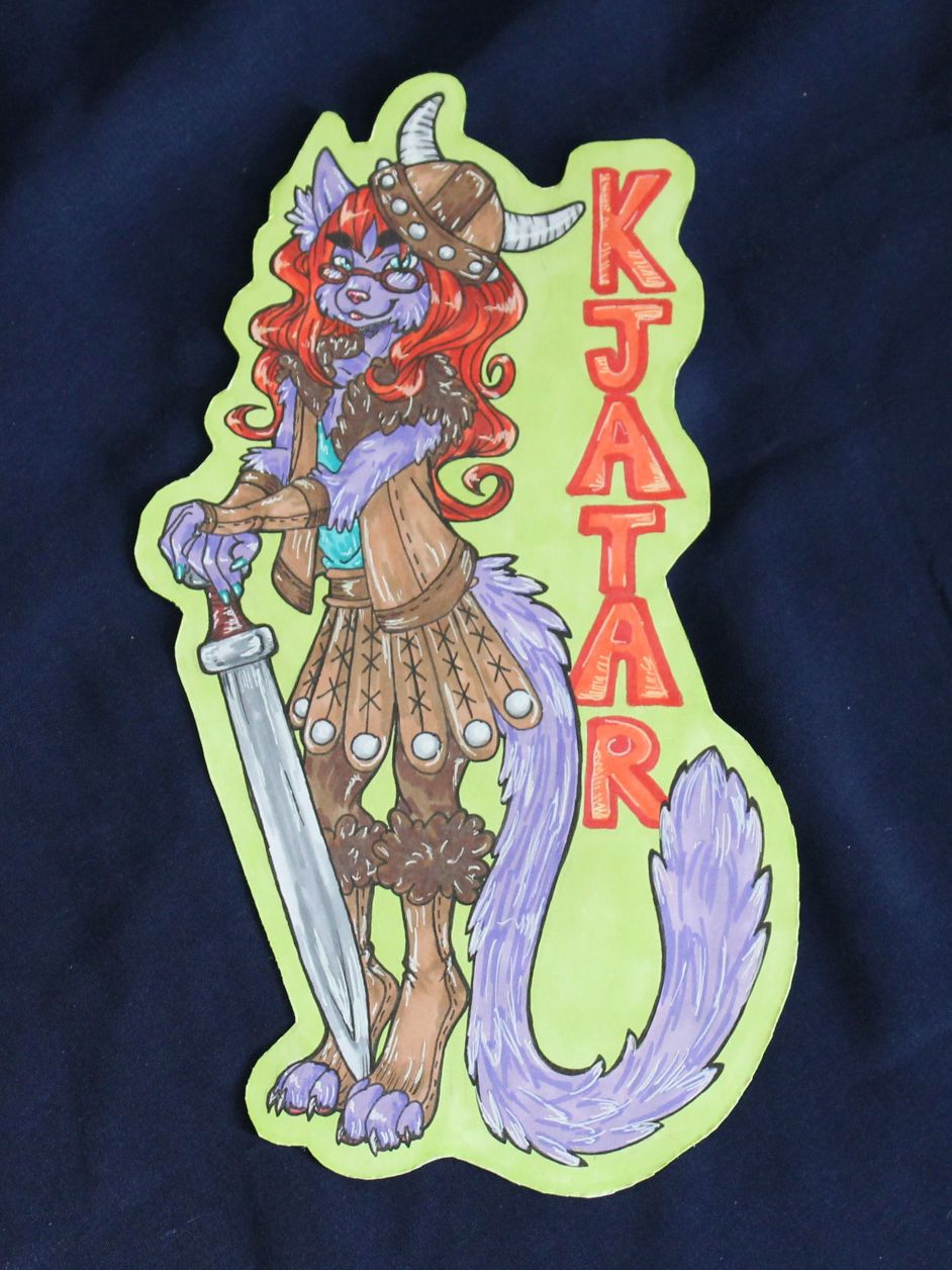 Badge by Whisski - Kjatar