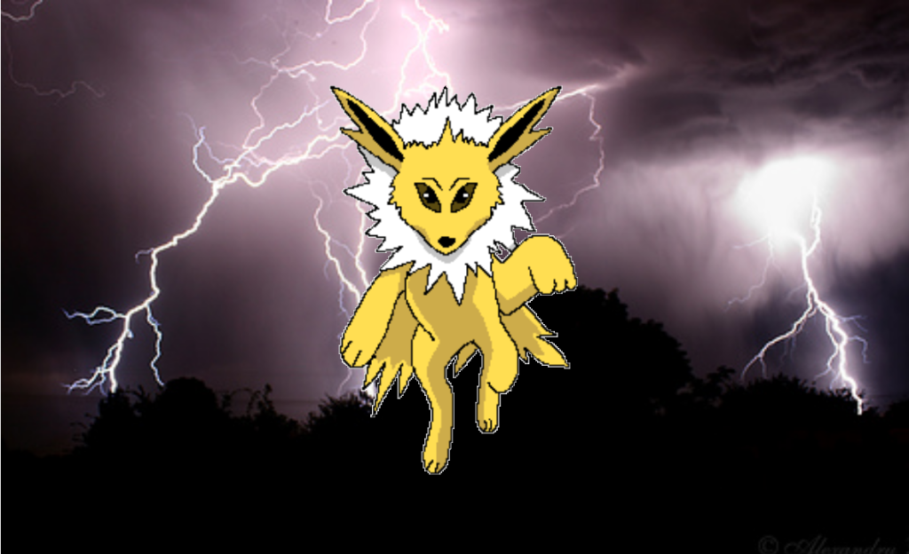 Raging Jolteon