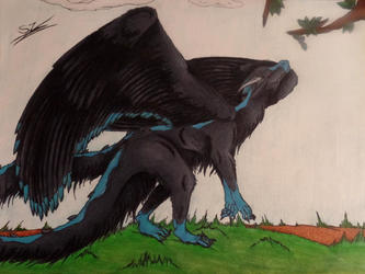 ~ The Giant Fluff Dragon