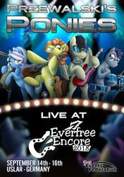 Przewalski's Ponies at Everfree Encore 2018