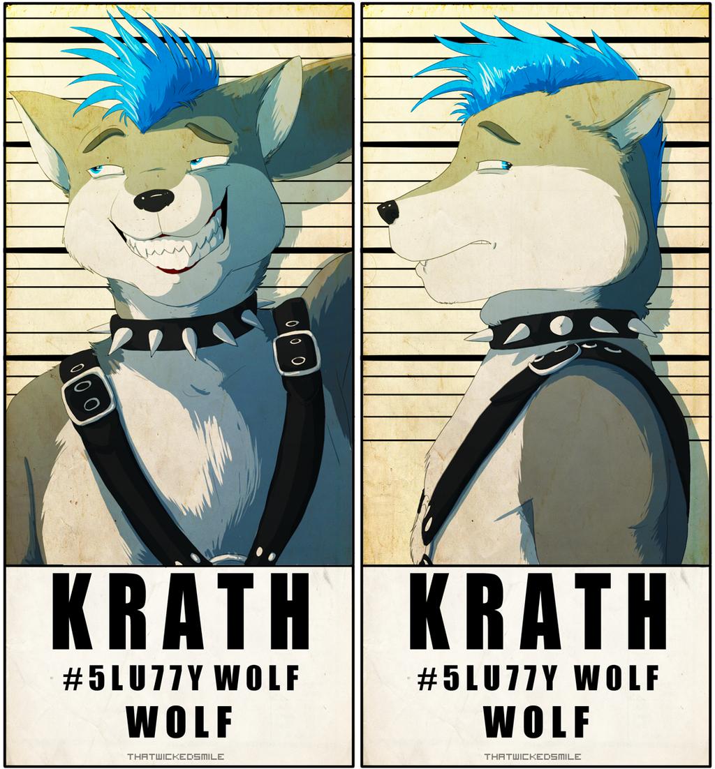 MugShot Badge - Krath