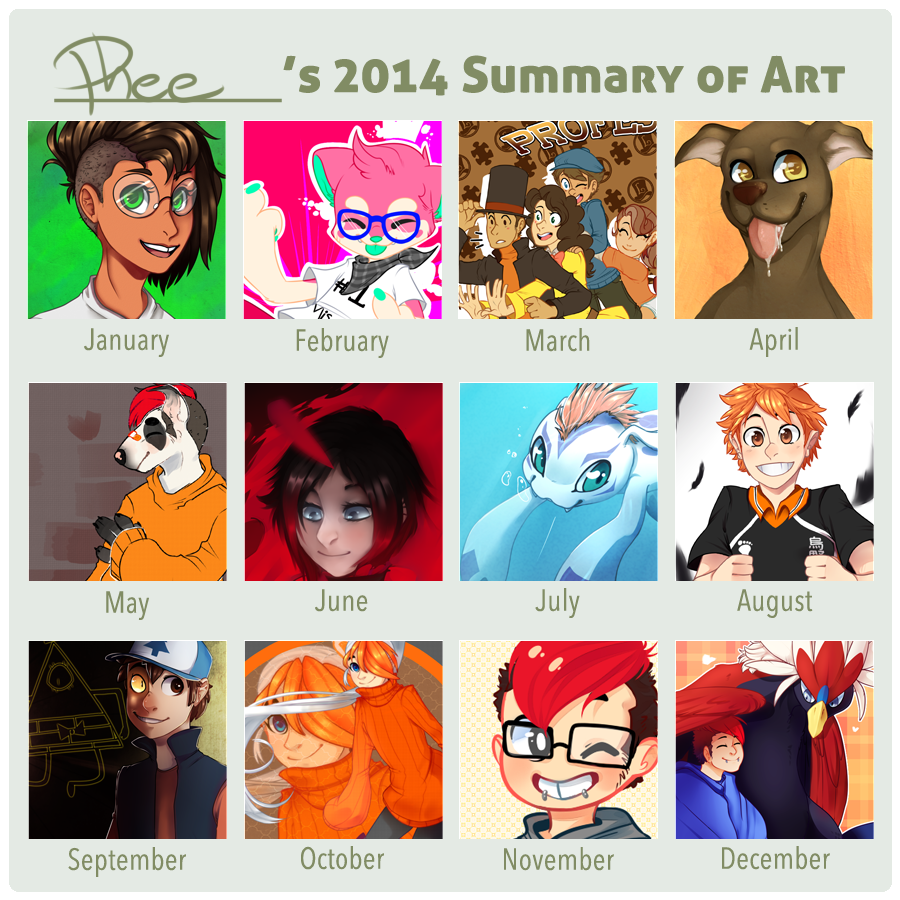 2014 Art Summary