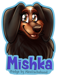 Mishka Badge