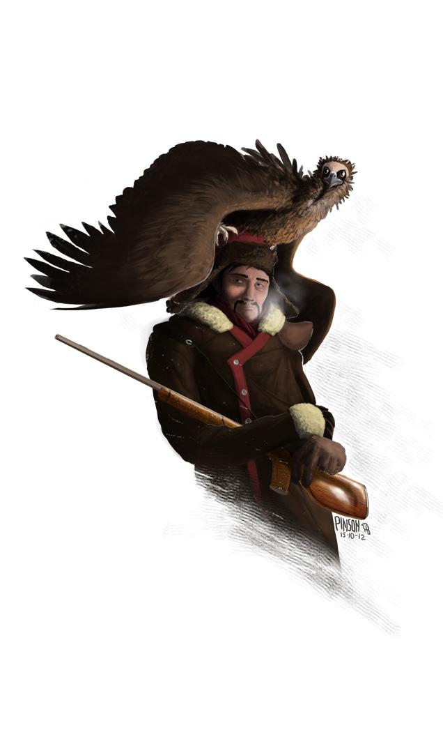 Mongolia Jones portrait